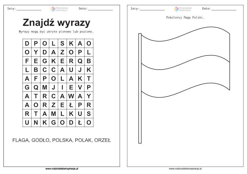 Karty pracy przedszkole - Polska