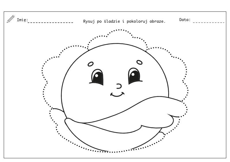 Szlaczki do druku - przedszkole