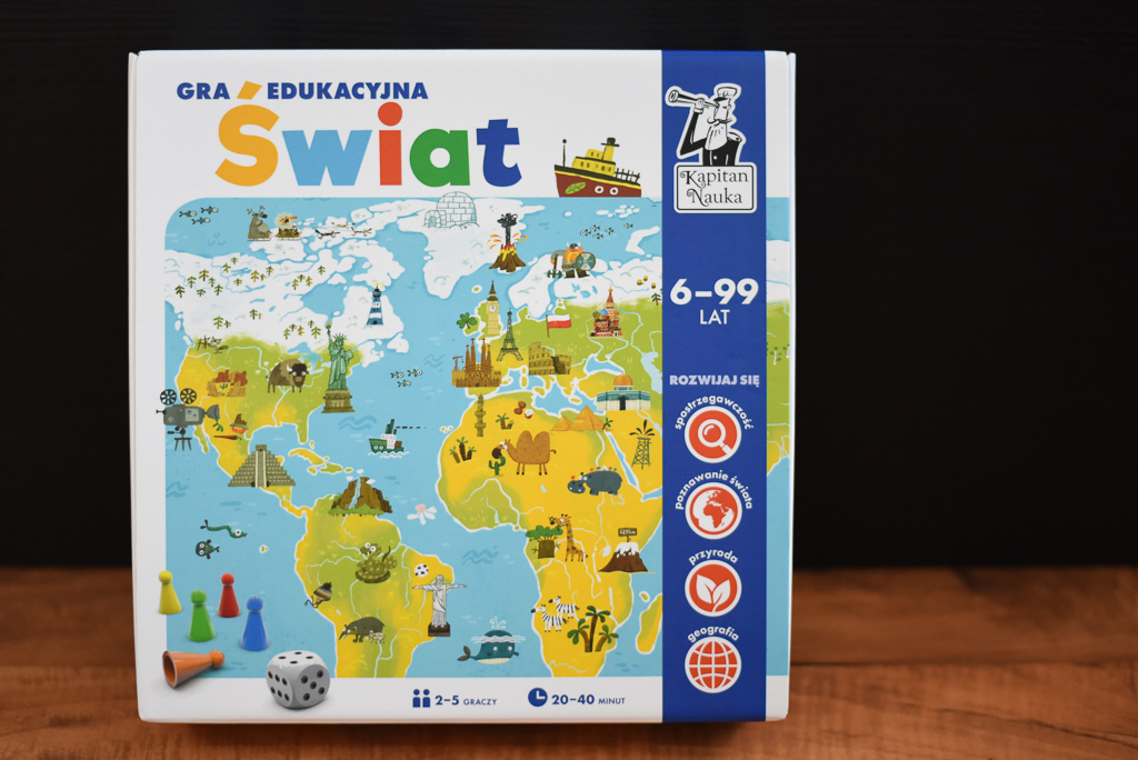 Świat - gra edukacyjna Kapitan Nauka