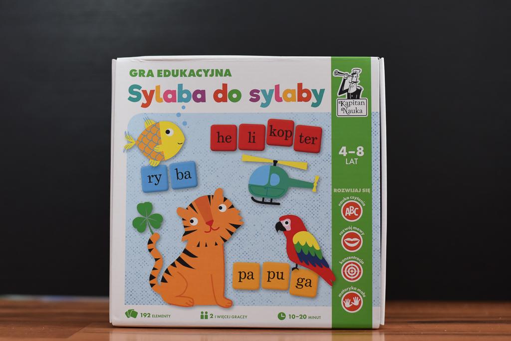Sylaba do sylaby - Kapitan Nauka - gry edukacyjne