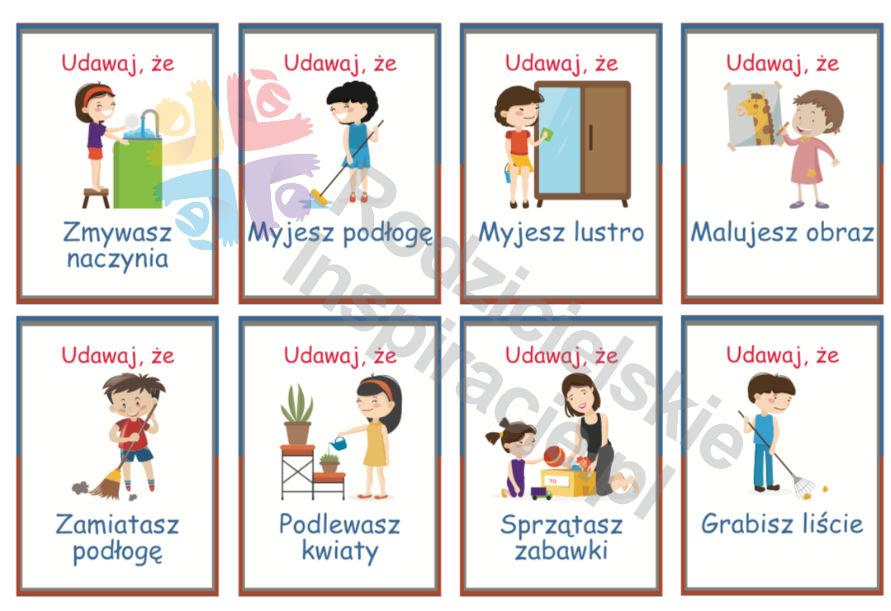 Karty ruchowe dla dzieci