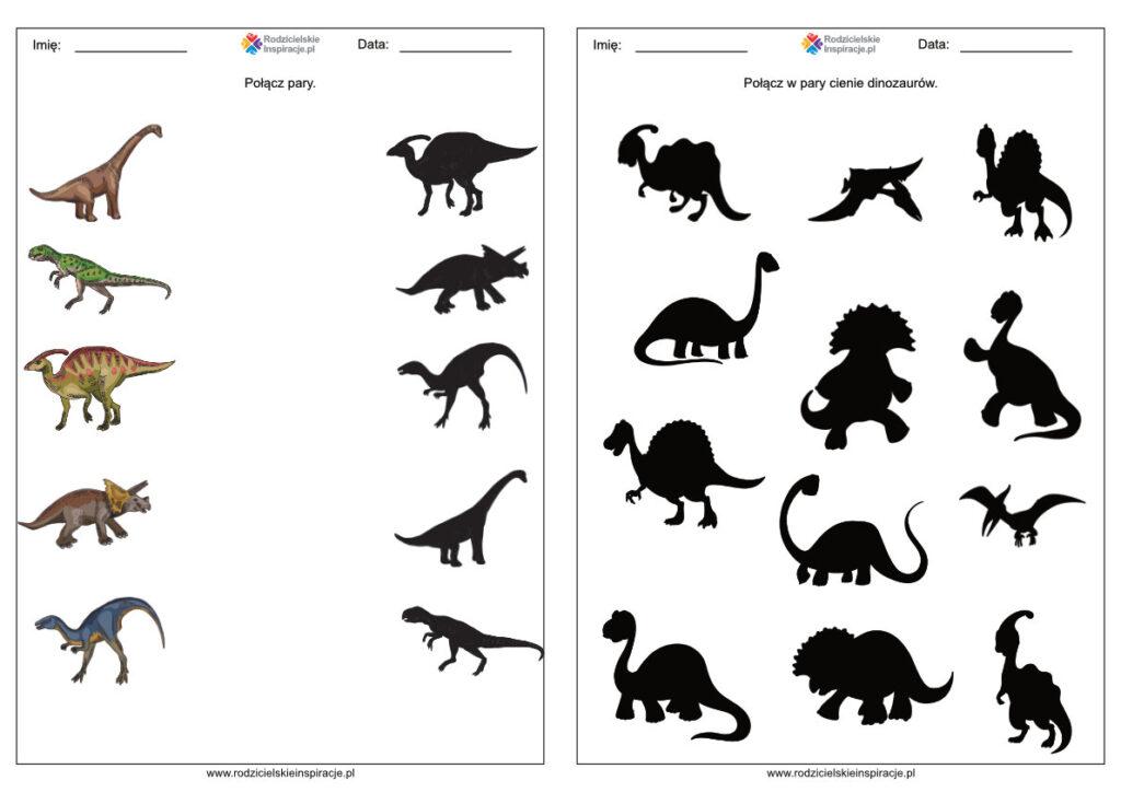 Dzień Dinozaura karty pracy (przedszkole)