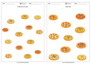 Dzień Pizzy karty pracy za darmo