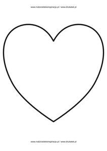 Serce rysunek