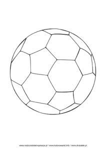 Piłka nożna kolorowanka