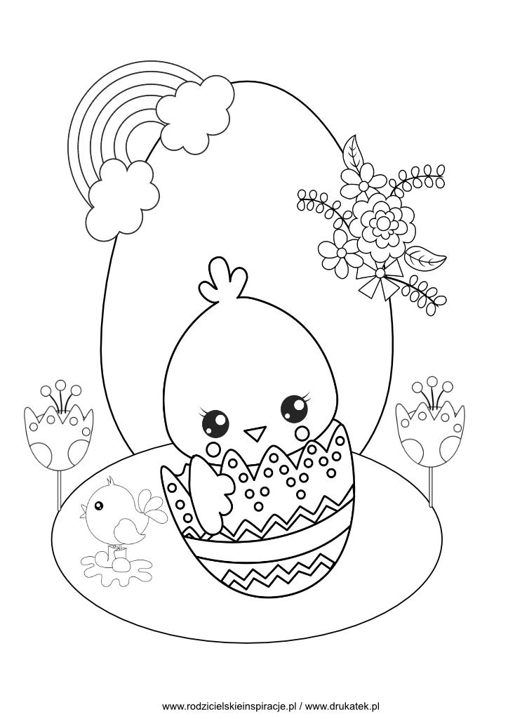 Wielkanoc kolorowanka