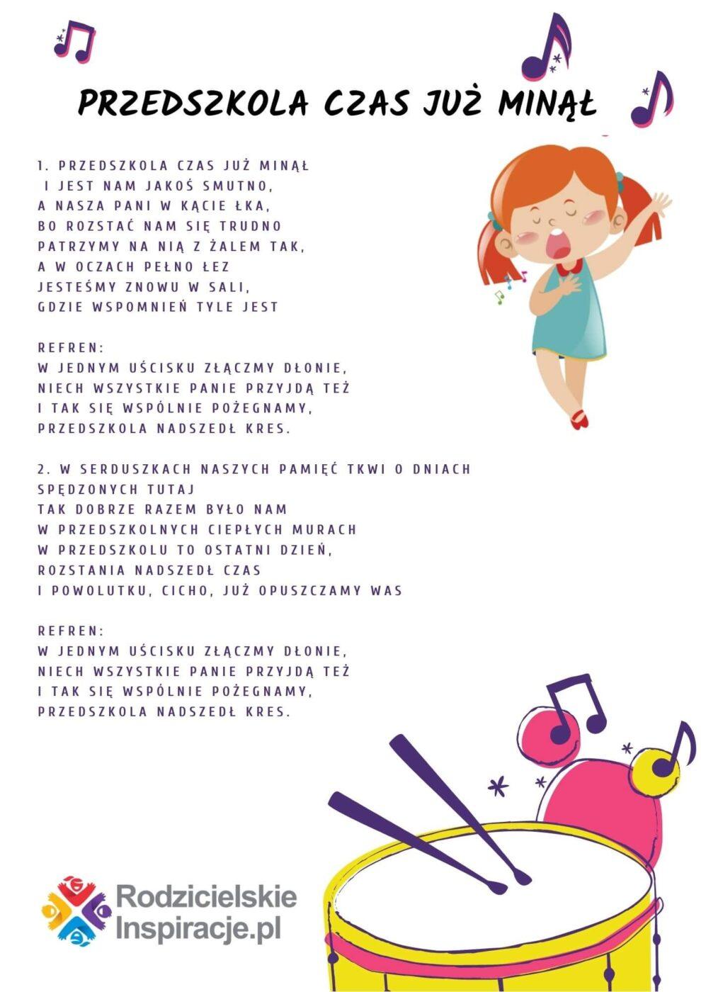 przedszkola-czas-juz-minal-tekst