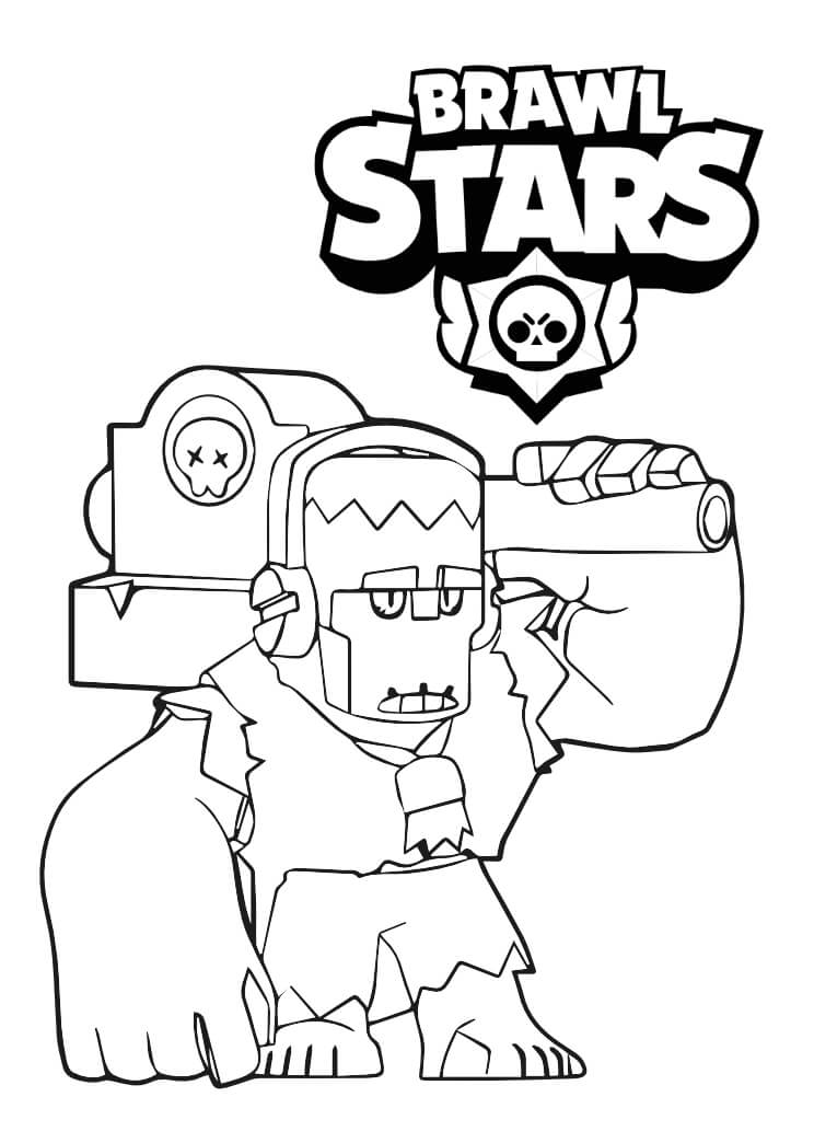 frank kolorowanka brawl stars