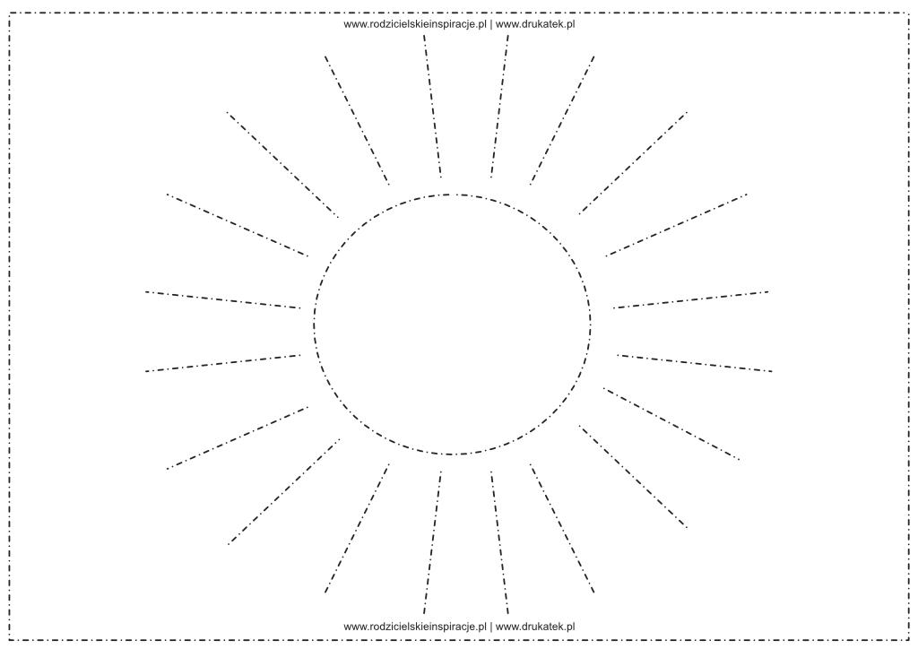 grafomotoryka lato do druku