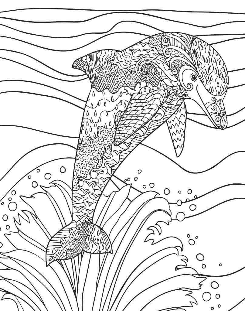 delfin mandale